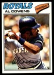 1977 Topps #262  Al Cowens  Front Thumbnail