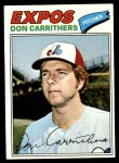 1977 Topps #579  Don Carrithers  Front Thumbnail
