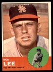 1963 Topps #372 FUL Don Lee  Front Thumbnail