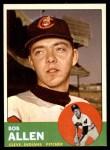1963 Topps #266  Bob Allen  Front Thumbnail