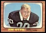 1966 Topps #115  Jim Otto  Front Thumbnail
