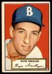 1952 Topps #7  Wayne Terwilliger  Front Thumbnail