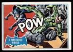 1966 Topps Batman Blue Bat Puzzle Back #29 PUZ  Wretched Riddle Front Thumbnail