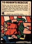 1966 Topps Batman Blue Bat Puzzle Back #11 PUZ  To Robin's Rescue Back Thumbnail