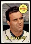 1969 Topps #460  Joe Torre  Front Thumbnail