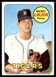 1969 Topps #270  Mickey Lolich  Front Thumbnail
