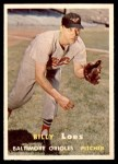 1957 Topps #244  Billy Loes  Front Thumbnail