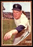 1962 Topps #310  Whitey Ford  Front Thumbnail