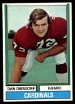 1974 Topps #32 ONE Dan Dierdorf  Front Thumbnail