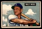 1951 Bowman #261  Wally Moses  Front Thumbnail