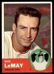 1963 Topps #459  Dick LeMay  Front Thumbnail