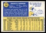 1970 Topps #368  Ed Herrmann  Back Thumbnail