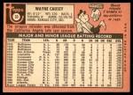 1969 Topps #33  Wayne Causey  Back Thumbnail