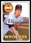1969 Topps #328  Joe Horlen  Front Thumbnail
