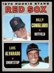 1970 Topps #317   -  Luis Alvarado / Billy Conigliaro Red Sox Rookies Front Thumbnail