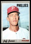 1970 Topps #302  Jeff James  Front Thumbnail
