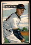 1951 Bowman #304  Allen Gettell  Front Thumbnail