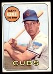 1969 Topps #171  Glenn Beckert  Front Thumbnail