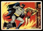 1966 Topps Batman Black Bat #51 BLK  Flaming Welcome Front Thumbnail