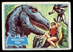 1966 Topps Batman Blue Bat Puzzle Back #17 PUZ  Prehistoric Peril Front Thumbnail