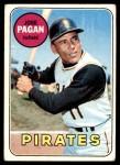 1969 Topps #192  Jose Pagan  Front Thumbnail