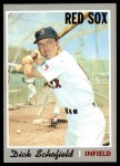 1970 Topps #251  Dick Schofield  Front Thumbnail