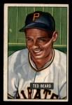 1951 Bowman #308  Ted Beard  Front Thumbnail