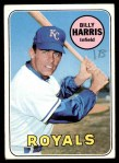 1969 Topps #569  Billy Harris  Front Thumbnail