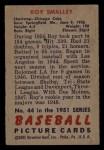 1951 Bowman #44  Roy Smalley  Back Thumbnail