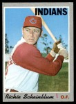 1970 Topps #161  Richie Scheinblum  Front Thumbnail