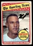 1969 Topps #423   -  Bert Campaneris All-Star Front Thumbnail