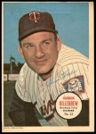 1967 Topps Poster Pin-Up Poster #23  Harmon Killebrew  Front Thumbnail