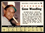 1961 Post #70  Gene Woodling   Front Thumbnail