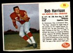 1962 Post #95  Bob Harrison  Front Thumbnail