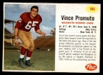 1962 Post #196  Vince Promuto  Front Thumbnail