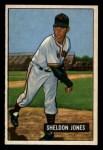 1951 Bowman #199  Sheldon Jones  Front Thumbnail