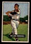 1951 Bowman #98  Willard Marshall  Front Thumbnail