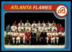 1979 Topps #244   Flames Team Checklist Front Thumbnail