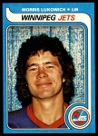 1979 Topps #202  Morris Lukowich  Front Thumbnail
