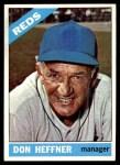 1966 Topps #269  Don Heffner  Front Thumbnail