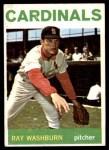 1964 Topps #332  Ray Washburn  Front Thumbnail