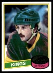 1980 Topps #196  Dave Lewis  Front Thumbnail
