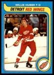 1979 Topps #17  Willie Huber  Front Thumbnail