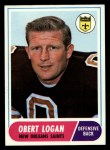 1968 Topps #4  Obert Logan  Front Thumbnail