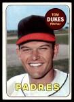 1969 Topps #223  Tom Dukes  Front Thumbnail