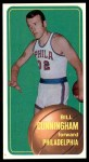 1970 Topps #140  Billy Cunningham   Front Thumbnail