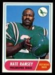1968 Topps #136  Nate Ramsey  Front Thumbnail
