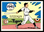 1970 Fleer World Series #42   -  Hank Greenberg 1945 Tigers vs. Cubs   Front Thumbnail
