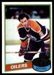 1980 Topps #63  Lee Fogolin  Front Thumbnail
