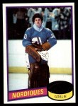 1980 Topps #223  Michel Dion  Front Thumbnail